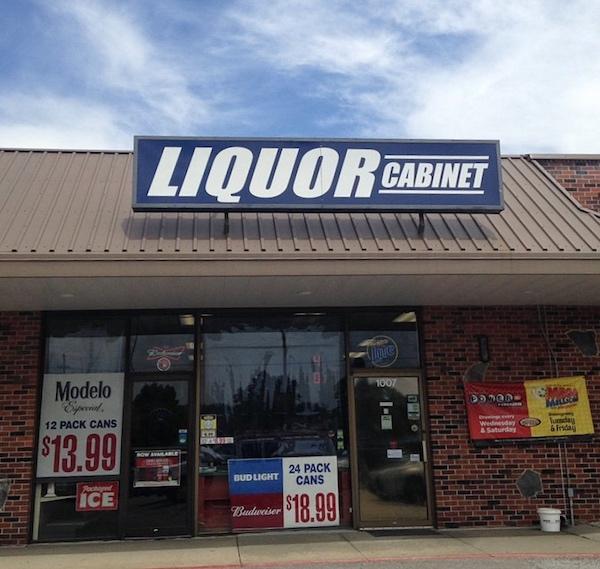 Bellevue Liquor Cabinet